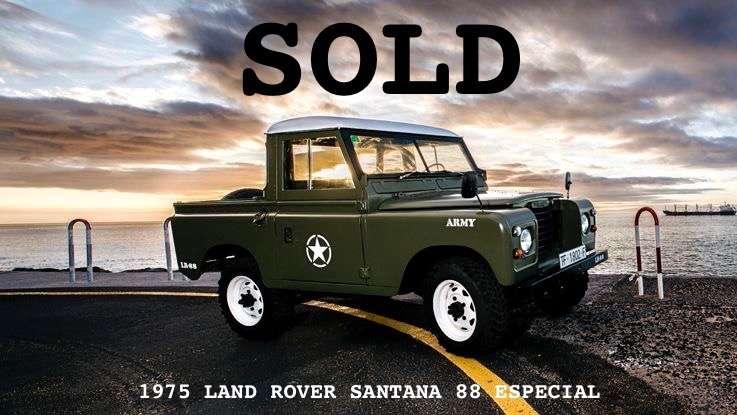 1975 Land Rover Santana 88 Especial - CANARY ISLAND ROVER