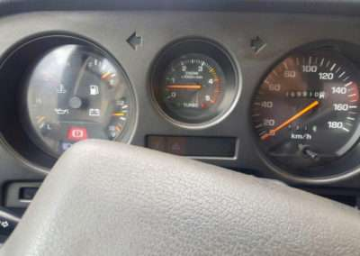 1988 Toyota Land Cruiser HJ61 dash