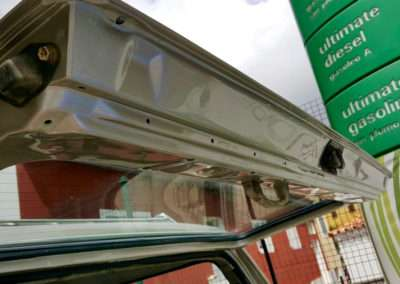 1989 toyota land cruiser hj61 rear hatch top