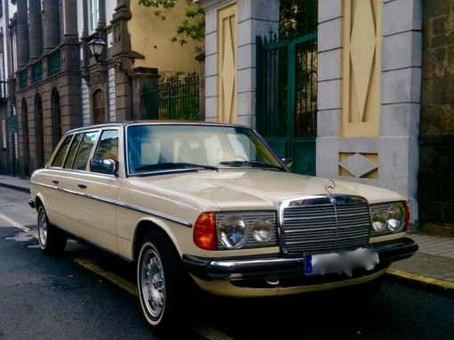 1980 Mercedes 300D Limousine