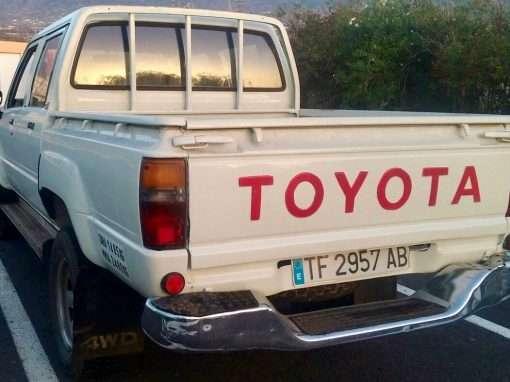 1987 Toyota Hilux 4WD LN65