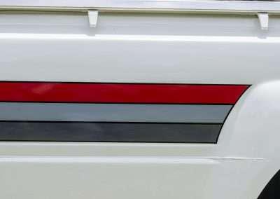 Toyota Hilux LN65 decals 3