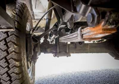 Toyota Hilux LN65 front axle 7