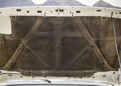 Toyota Hilux LN65 hood mat