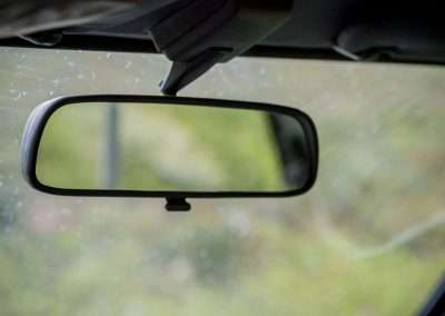 Toyota Hilux LN65 rearview mirror