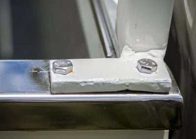 Toyota Hilux LN65 window guard 2