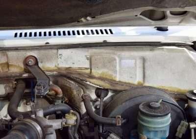 1988 Toyota Land Cruiser LJ70 engine 4