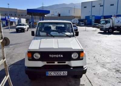 1988 Toyota Land Cruiser LJ70 exterior 8