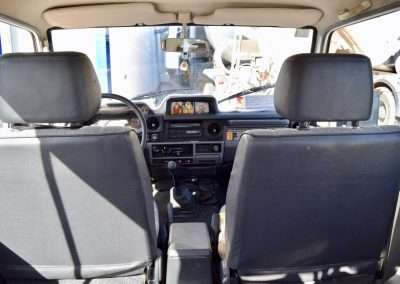 1988 Toyota Land Cruiser LJ70 interior 19