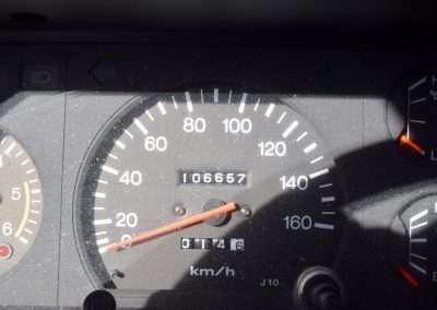 1988 Toyota Land Cruiser LJ70 interior 2