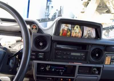 1988 Toyota Land Cruiser LJ70 interior 9