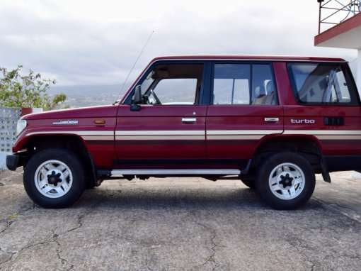 1993 Toyota Land Cruiser LJ77 LX