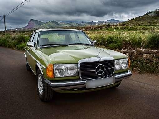 1980 Mercedes Benz 300D W123