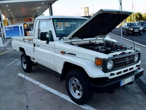 1991 Toyota Land Cruiser PZJ75 Pickup