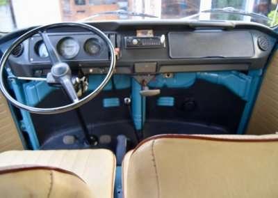 1971 Volkswagen Doka 1019 Interior 0