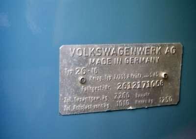 1971 Volkswagen Doka 1019 Interior 90
