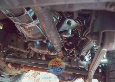 1991 Toyota Land Cruiser LJ77 LX - Chassis Pic-13