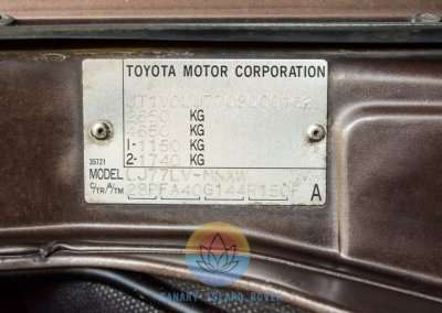 1991 Toyota Land Cruiser LJ77 LX - Engine Pic-2