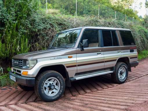 1991 Toyota Land Cruiser LJ77 LX