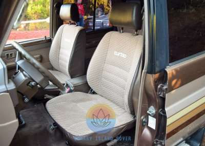 1991 Toyota Land Cruiser LJ77 LX - Interior Pic-20